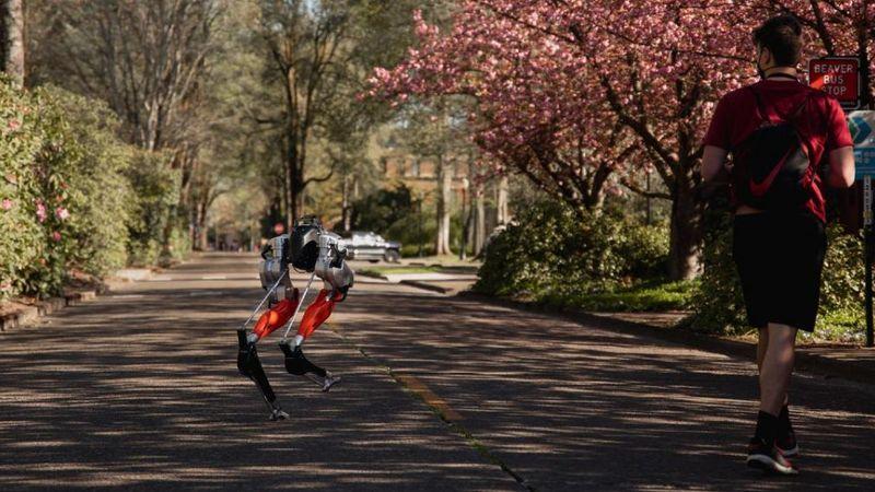 Robot op twee benen