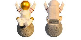 Bluetooth speaker astronaut