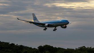 KLM vliegtuig Google Flights