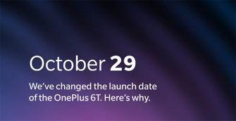 OnePlus 6T evenement verplaatst