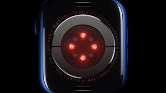 Apple Watch Series 6 sensor