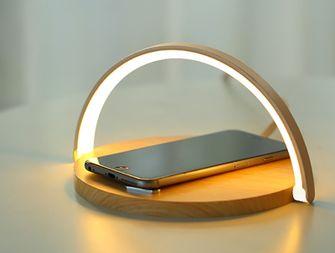 LED lamp QI oplader