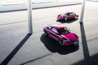 Porsche Tycan 2022 elektrische auto