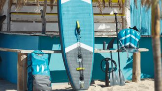 Aldi SUP stand-up paddle set