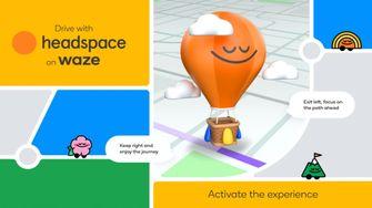 Waze Headspace navigatie