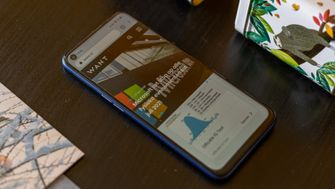 Realme 6 review scherm