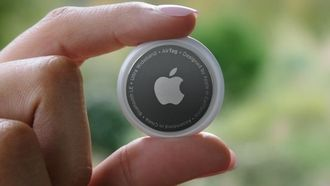 apple spring loaded AirTag Google