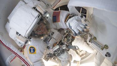 ISS astronauten ruimte NASA