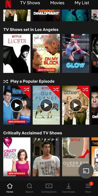 Netflix films series random