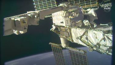 NASA ISS ruimte