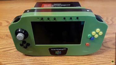 Draagbare Nintendo 64