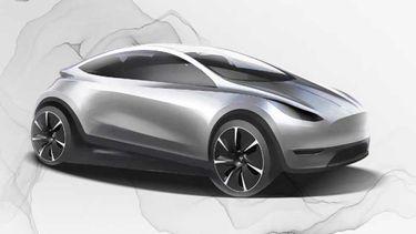 Tesla Model 2 elektrische auto
