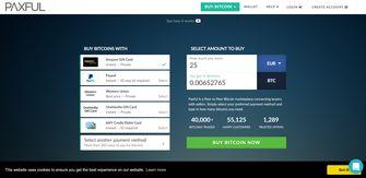 Bitcoin ruilen Ethereum geld Paxful