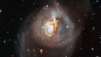 Sterrenstelsel NGC 3256