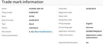 Huawei nieuw besturingssysteem