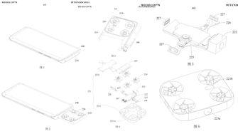 Vivo patent dronecamera