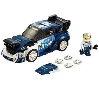 2018 LEGO Speed Champions - Ford Fiesta M-Sport WRC