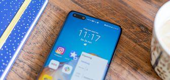 Huawei P40 Pro review notch