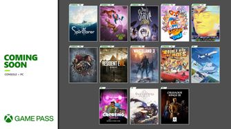 Xbox Game pass line up