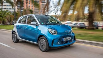 Smart EQ Forfour elektrische auto