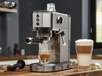 volautomaat koffiemachines en pistonmachines Lidl