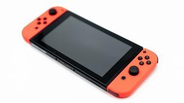red Nintendo Switch