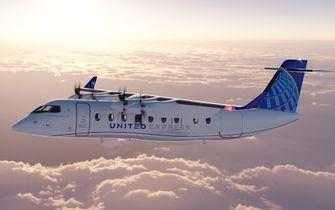 Elektrisch vliegtuig United Airlines