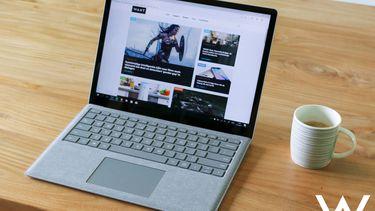 Microsoft Surface Laptop review design