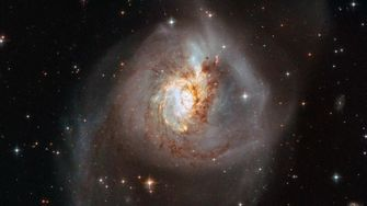 Sterrenstelsel NGC 3256
