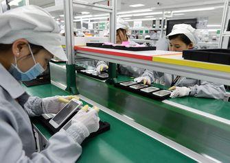 smartphone fabriek