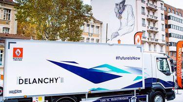Renault Trucks elektrische vrachtwagen