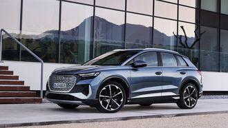 Audi Q4 e-tron elektrische auto
