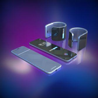 Buigbare smartphone Samsung