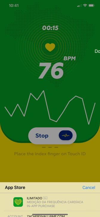 touch id face id app