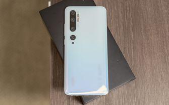 Xiaomi Mi Note 10 preview achterkant
