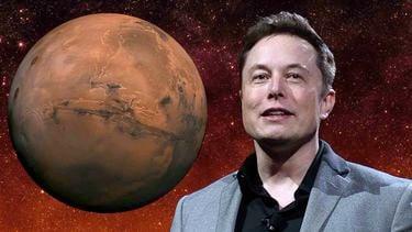 Tesla SpaceX Elon Musk Mars