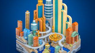 Lego ministad