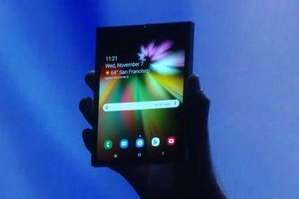 Samsung opvouwbare smartphone Galaxy F