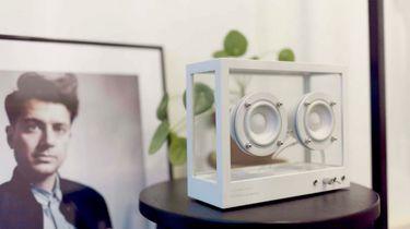 transparante speaker