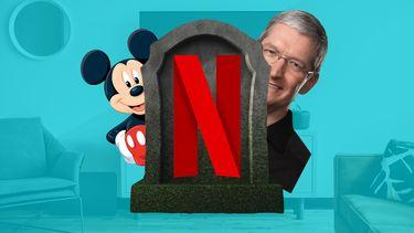 Netflix-killer disney en apple
