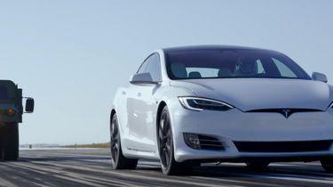 Motor Trend Race met Tesla Model S