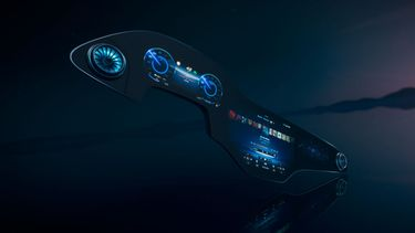MBUX hyperscreen Mercedes