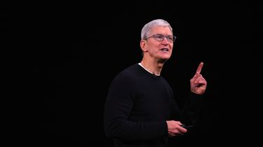 Tim Cook CEO Apple iPhone 11 event Apple Arcade Netflix-killer