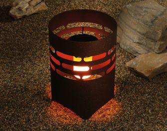 Vuurkorf zonne-energie Aldi