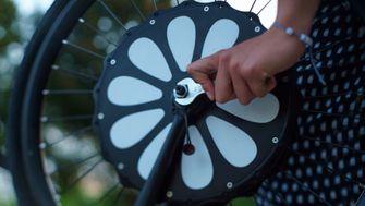 Teebike elektrische fiets elektrisch voorwiel