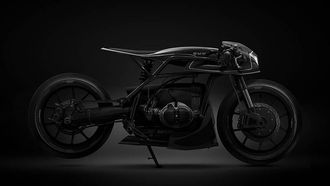 Barbara Custom Motorcycles Black Mamba BMW R80