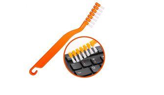 tandenborstel toetsenbord