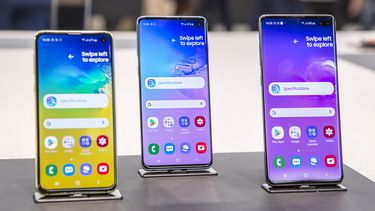 Samsung Galaxy S10 preview familie