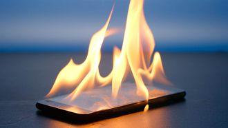 smartphone vuur