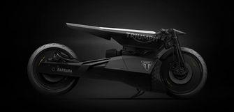 Triumph E Black Matter